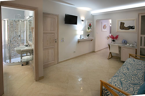 Camera Afrodite Junior suite Residenza Donna Giovanna